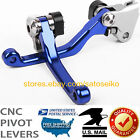 US FOR YAMAHA YZ125/250/F/YZ426F/450F/YZ250X/TTR250 PIVOT BRAKE CLUTCH LEVERS image