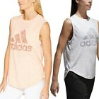 Adidas Women  s Athletic ID Winners Workout Tank Top Sleeveless Tee