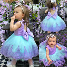 Kyпить Princess Wedding Party Prom Birthday Dress Skirt Tutu Dresses For Baby Girl 0-5Y на еВаy.соm