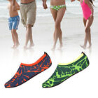 Outdoor Beach Water Shoes Non-slip Snorkeling Shoes For Unisex  Green Orange