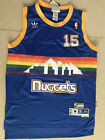 Men's Denver Nuggets Basketball Jersey NO.15 Shirt Carmelo Anthony Mesh Blue on eBay