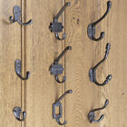 Coat Hooks Cast Iron Antique Hat and Coat Hook Single Double Robe Hook Pack of 5