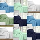 1800 Count Super Deluxe Hotel Quality 6 Piece Deep Pocket Bed Sheet Set NEW image
