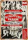 Metal Sign - 1956 Strippers Parade - Vintage Look Reproduction