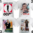 JAMES BOND print TShirt RARE vintage; Sean Connery Russia. Octopussy Roger Moore £12.95 GBP on eBay