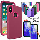 For Apple iPhone 11/ X / XR / XS Max Case Protective Heavy Duty Shockproof Cover