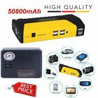 89800mAh Mini Emergency Starting Device Car Jump Starter 4 USB Mobile Power Nve