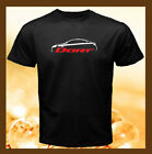 Dodge Dart 2013 Logo Sedan Car Silhouette Men's Black T-Shirt S M L XL 2XL $22.99 USD on eBay