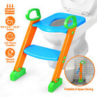 Kids Potty Training Seat with Step Stool Ladder for Child Toddler Toilet Chair A