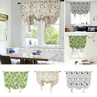 Ready Made Floral Printed Kitchen Tie Up Curtains  Window Curtains Pelmet GIFT