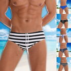 Men Swimming Trunks Swimsuit Underwear Triangular Bikini Swim Briefs Beach Pants