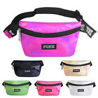 Womens Fanny Pack Shiny Leather Pouch Belt Bag Waist Phone Pocket Travel Casual image