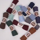 ''New'' USA Premium Cotton Blend Maxi Crinkle Cloud Hijab Scarf Shawl