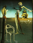 Salvador Dali - Woman With a head of roses, Fine Art Print