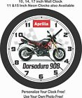 2019 APRILIA DORSODURO 900 MOTORCYCLE WALL CLOCK-BMW, TRIUMPH, HONDA $28.99 USD on eBay