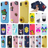 3D Cartoon Soft Silicone Phone Case For iPhone X SE 5 6 7 8 Samsung S8 S9 Plus