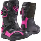 Fox Racing KIDS Comp 5K Off Road Riding Boots *10,11,12,13* Black/Pink