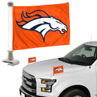 NFL Football Car Hood / Trunk Ambassador Flags Set of Two Double Sided