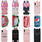 3D Cola Cat Unicorn Silicone Phone Case For iPhone 5 6 7 8 X Samsung S9 Huawei $6.08  on eBay