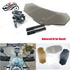 SK Motorcycle Accessories Airflow Wind Deflector Spoiler Windshield For Ducati