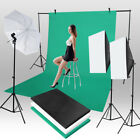 1.6*3m/5.2*9.8ft Photography Chromakey Backdrop Studio Cotton Stand Background
