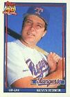 1991 Topps Glow Back Baseball Cards #201-400 You Pick!