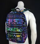 NEW RBCK-111  HERSCHEL SUPPLY CO. ZIG ZAG BLUE GREEN MEN'S SPORT BACKPACK BAG