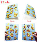 4 Type Shining Ash Album Book List Holder Flash Collector For 240Pc Pokemon Card