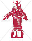 Lost In Space B-9 Robot Television Sci-fi Series Tv Character Cool Vinyl Sticker