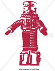 Lost In Space B 9 Robot Television Sci Fi Series TV Character Cool Vinyl Sticker