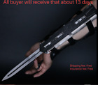 By DHL Assassin Creed Hidden Blade Cosplay Alloy 1:1 Sleeve Arrow Catapult Props
