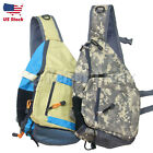Fly-Fishing Sling Pack with Tippet Holder, backpack, fishing vest