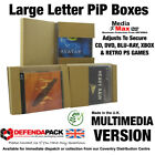 Royal Mail LARGE LETTER Posting Cardboard BOXES PiP Postal DVD XBOX Media Games