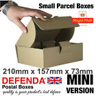 MINI Size Royal Mail SMALL PARCEL BOXES PiP Postal Packet 210mm X 157mm X 73mm
