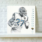 Jacksonville Jaguars Leonard Fourne HD Print Oil Painting Art on Canvas Unframed $8.0 USD on eBay
