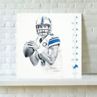 Detroit Lions Matthew Stafford HD Print Oil Painting Art on Canvas Unframed $16.0 USD on eBay