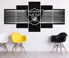 Oakland Raiders HD Print Oil Painting Home Decor Art on Canvas 5PCS Unframed $25.0 USD on eBay