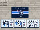 HD Print Oil Painting Home Decor on Canvas Tennessee Titans 4PCS/SET Unframed $24.0 USD on eBay
