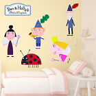Ben And Holly Little Kingdom Kids Boys Girls Bedroom Wall Decal Art Sticker New