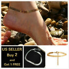 Arrows Beach Gold Anklet Ankle Bracelet Foot Chain