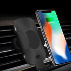 UK Qi Wireless Car Charger Automatic Infrared Air Vent Holder For Apple iPhoneXS