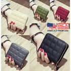 Womens and Girls Zip Around Cards Coins Key Pocket Mini Purse Leather Wallet