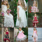 Toddler Kids Baby Girls Wedding Flower Girls Princess Dress Party Tutu Dresses