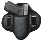 Tactical Pancake Concealed Carry IWB Gun Holster Houston Leather - Choose ModelHolsters - 177885