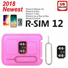 RSIM 12+ New 2019 R-SIM Nano Unlock Card for iPhone X/8/7/6/6s/5S/ 4G iOS 12 11