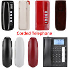 Wall Mounted Landline Corded Land-line Wired Home Office Fixed Telephone Phone