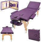 "LIGHTWEIGHT PORTABLE MASSAGE TABLE COUCH BEAUTY THERAPY BED REIKI 1.5"" SPA"