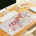 Anime The Quintessential Quintuplets Nakano Miku Game Large Mouse Pads Table Mat