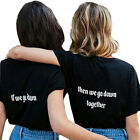 Best Friend T-shirt Brownie Blondie 01 Tee Tumblr Tops Funny Couples Shirts Gift