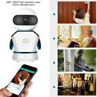 1080P HD Wireless WIFI Panoramic Camera 2MP Security IR Night Vision Monitor Kit
